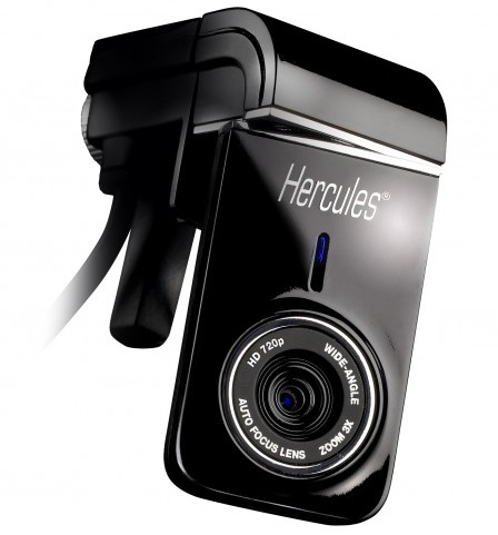 Hercules Dualpix HD720p Webcam for Notebooks