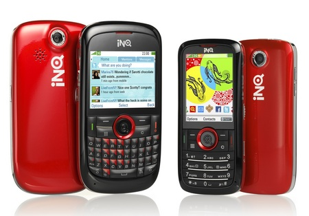 INQ Chat 3G and Mini 3G Social Mobile Phones