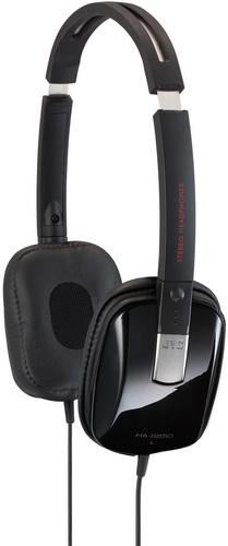 JVC Black Series HA-S650 foldable headphones