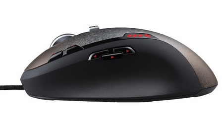 Logitech Gaming Mouse G500 side