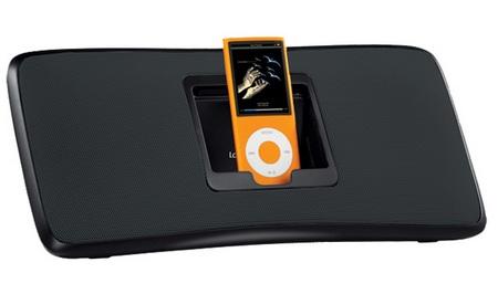 Logitech Rechargeable Speaker S315i iPod speaker black