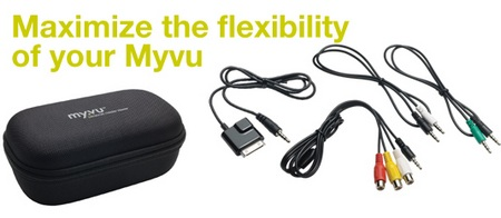MyVu Crystal EV Personal Media Viewer all-in-one
