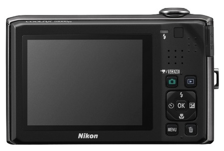 Nikon CoolPix S1000pj Camera with Built-in Projector back
