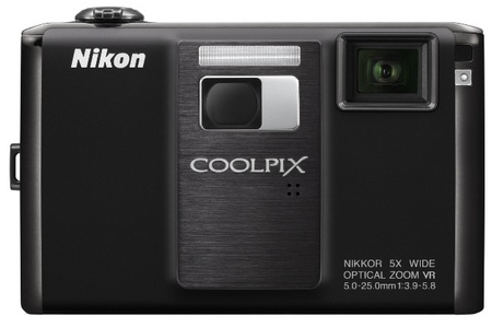 Nikon CoolPix S1000pj Camera with Built-in Projector front