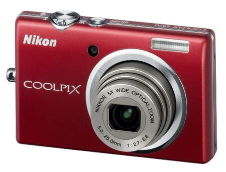 Nikon CoolPix S570 Digital Camera red