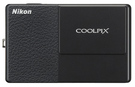 Nikon CoolPix S70 Touchscreen Camera Black & Black