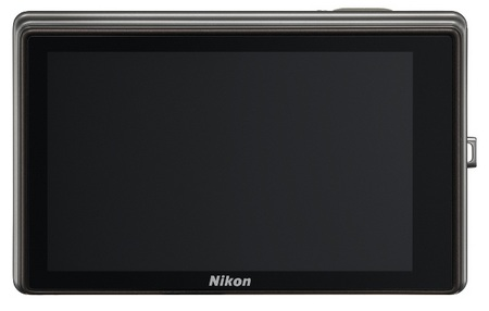 Nikon CoolPix S70 Touchscreen Camera back