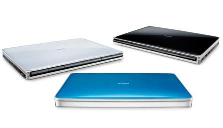 Nokia Booklet 3G Mini Laptop colors