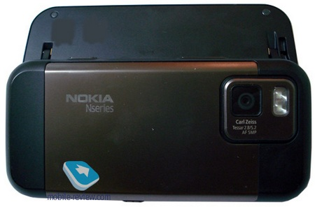 Nokia N97 Mini back