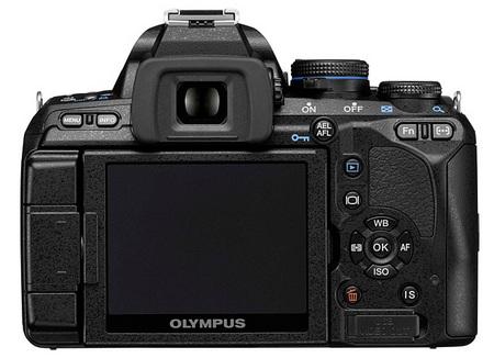 Olympus E-600 Entry-Level DSLR back