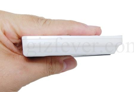 Palm-sized Wireless Keyboard side