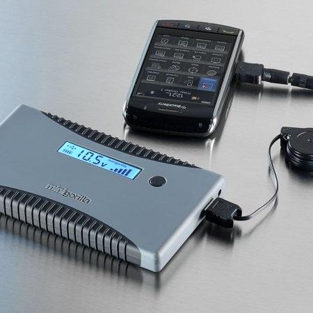 PowerTraveller minigorilla Portable Charger cellphone blackberry