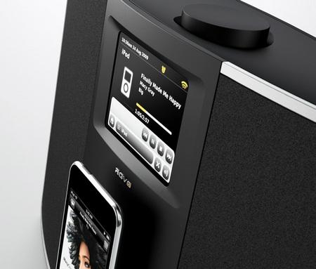 Revo IKON Digital Radio iPod iPhone dock LCD display