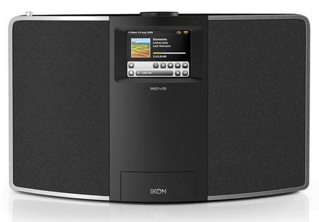 Revo IKON Digital Radio iPod iPhone dock front
