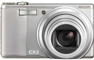 Ricoh CX2 10X Super-zoom Compact Camera silver