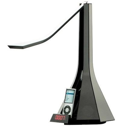 Roaliana Diva iPod iPhone Dock Speaker LED Lamp