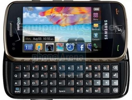 Samsung Rogue U960 Verizon Glyde 2 qwerty