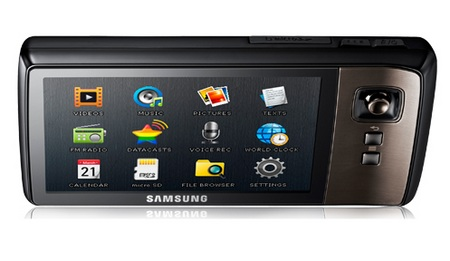 Samsung YP-CP3 PMP Launched top