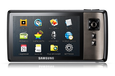 Samsung YP-CP3 PMP Launched front
