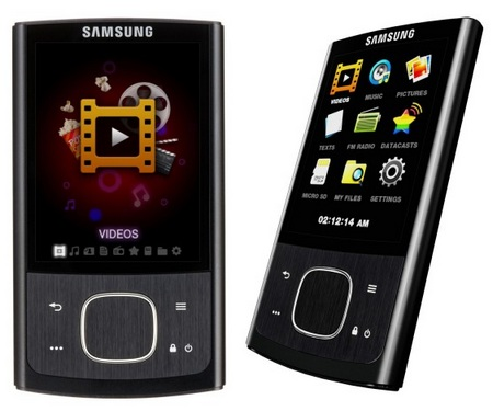 Samsung YP-R0 Portable Media Player
