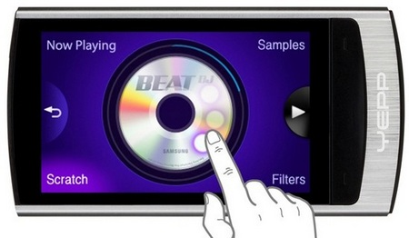 Samsung YP-R1 Beat DJ TouchWiz PMP DJ UI