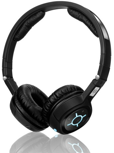 Sennheiser MM 400 and MM 450 Travel Bluetooth communications headsets