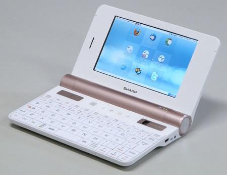 Sharp NetWalker PC-Z1-W Smartbook White