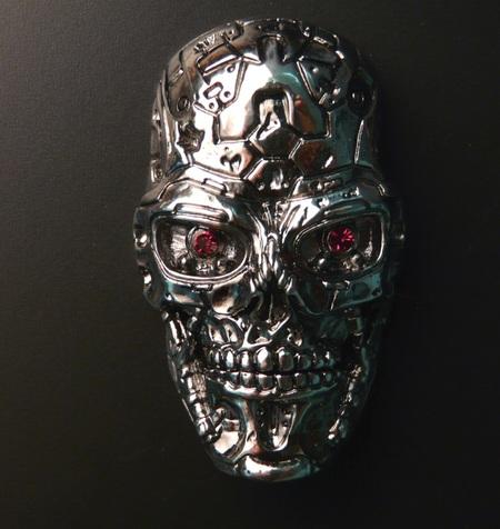 Solid Alliance Terminator 4 T-600 Skull USB Drive
