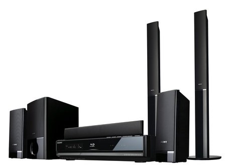 Sony ALTUS BDV-E500W 5.1-channel Blu-ray home theater system