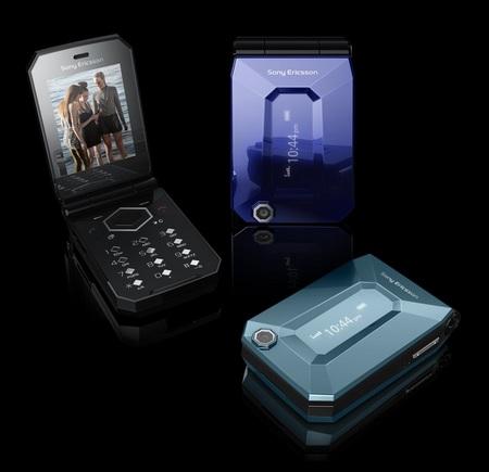 Sony Ericsson Jalou clamshell phone