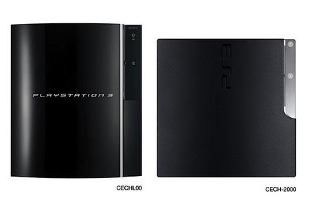 Sony PlayStation 3 vs PS3 top