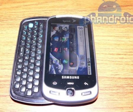 Sprint Samsung InstinctQ Picutred