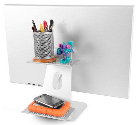 TwelveSouth BackPack Adjustable Shelf for iMac 1