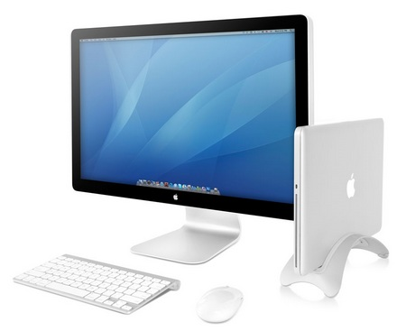 TwelveSouth BookArc MacBook Desktop Stand with cinema display