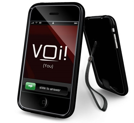 VOi! Lorem Hard-Shell Case for iPhone3G 3GS Obsidian