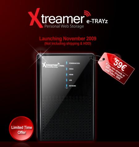 Xtreamer eTRAYz 2-Bay NAS