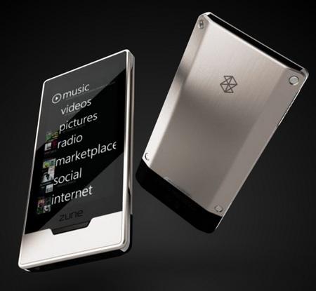 Zune HD Wireless Media Player Platinum
