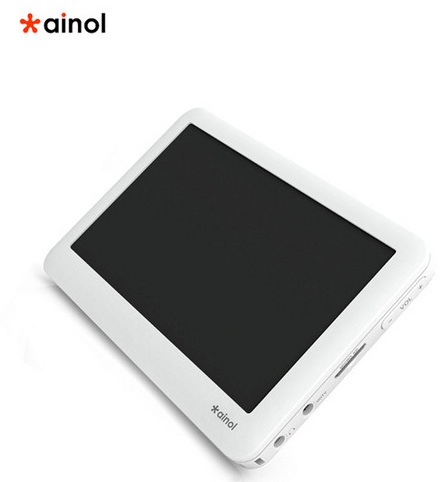 ainol V8000HD series PMP does H.264 decode and HDMI output 1