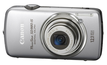 canon PowerShot SD980 IS Digital ELPH Camera silver