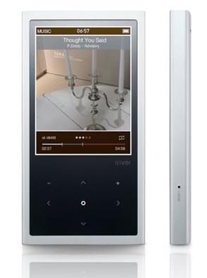 iRiver E200 aluminum PMP 1