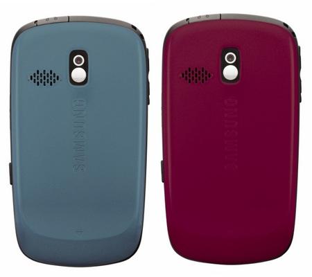Alltel Samsung Freeform SCH-r351 QWERTY Phone back