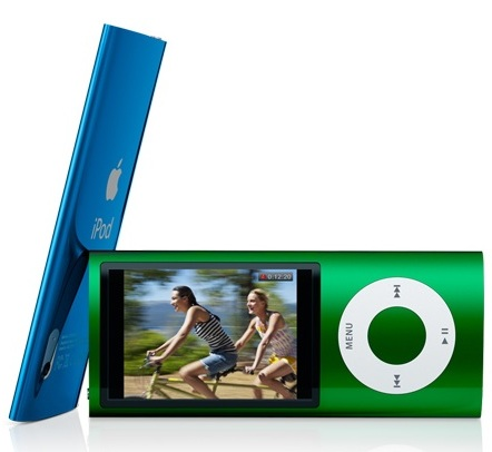 Apple iPod nano 5G gets Camera and FM Radio green