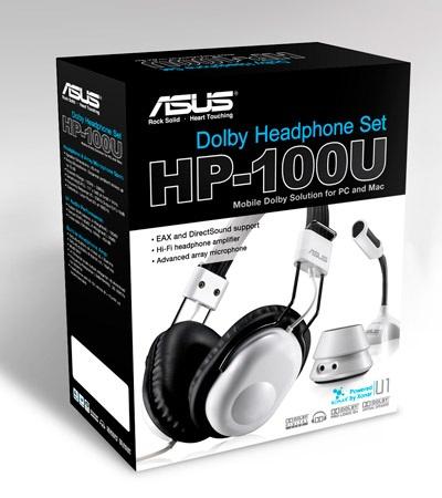 Asus HP-100U Dolby Headphone set