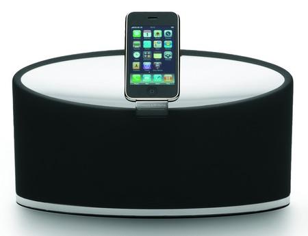Bowers & Wilkins Zeppelin Mini iPod Speaker System front