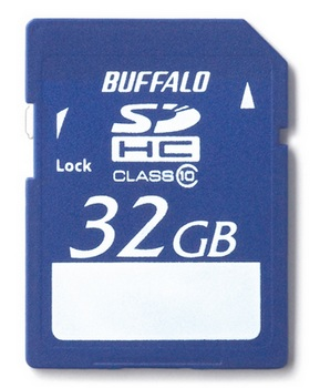 Buffalo RSDC-C10 Series Class10 SDHC Memory Card