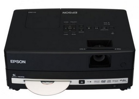 Epson EH-DM3 projector with DVD