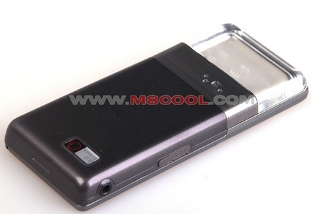 Flourite N68 Shanzhai Phone with transparent keypad back 1