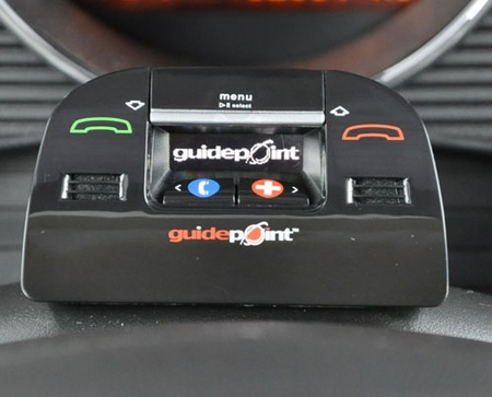 Guidepoint Connect in-car Bluetooth Hands-free system