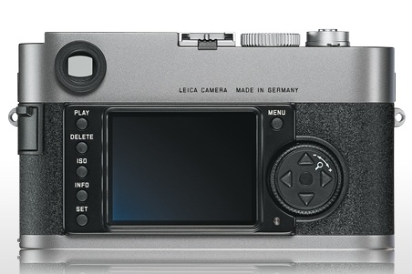 Leica M9 Full-Frame Digital Rangefinder Camera back