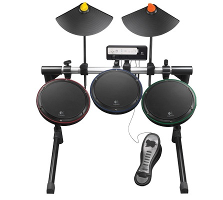 Logitech Wireless Drum Controller for Wi front